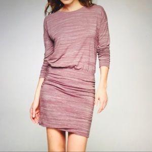 Athleta Dress Long Sleeve Purple/Mauve